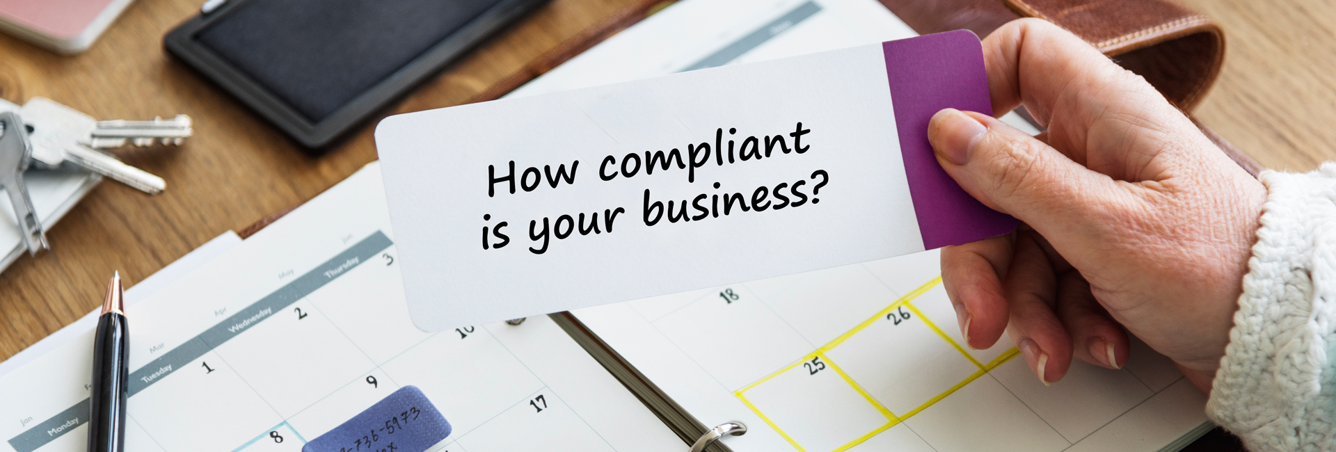 Is your business compliant image